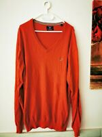 GANT Herren Strick Pullover Cotton Wool Gr. XL orange  ##LRZ360