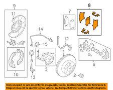 NISSAN OEM Brake-Rear-Hardware Kit D40809N00C