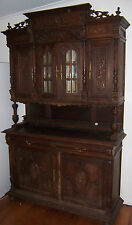 Antique French continental cupboard restaurant fitting restore sideboard