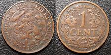 Pays-Bas - Wilhelmina I - 1 cent 1927 - KM#152
