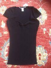 Diane Von Furstenberg Shirt Knitted Jumper Size S VGC