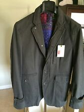 $498 Robert Graham Men's OUTPOST FIELD JACKET Size Medium. SOLD OUT!