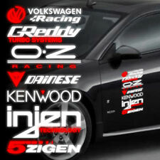 1pcs OZ Racing Injen 5zigen Greddy Car Side Door Sticker Decal 40x20cm QM0008S