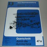 Reparaturanleitung Simca Aronde 1200 Typ 9 / 90 A / P 60 Flash 1300 Buch NEU!