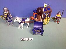 (M350) playmobil convoi d'or chevalier du lion 3314 3268