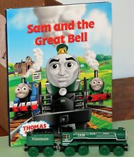 Thomas & Friends WOODEN RAILWAY SAM and The VIRGINIAN TENDER with STORY BOOK