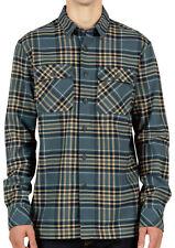 VOLCOM Men's JASPER L/S Flannel Shirt - AFB - Large - NWT