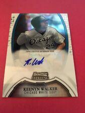 Keenyn Walker White Sox 2011 Bowman Sterling Prospects Auto #BSP-KWA