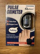 ChoiceMMed Fingertip Pulse Oximeter OxyWatch CF315