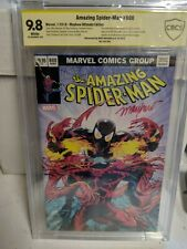 Amazing Spider-Man 800 Mike Mayhew Signed ULTIMATE EDITION CBCS SS 9.8 163/ 300