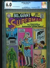 Eighty 80 Page Giant #11 CGC 6.0 (1965) Superman Curt Swan George Klein Cover