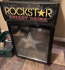Rockstar Commercial Refrigerator Mini Fridge Cooler (complete with keys)