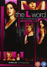 """The L Word The Complete Series Seasons 1, 2, 3, 4, 5 & 6 DVD Box Set """"dent"""" R2"""