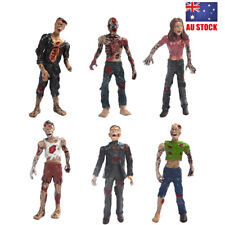 Walking Dead Corpses Movie Characters Zombie 6 PCS Action Figure Kids Toys Gifts