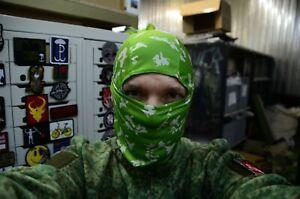 New Russian army Face Mask Balaclava Sniper Light green Berezka camo camo