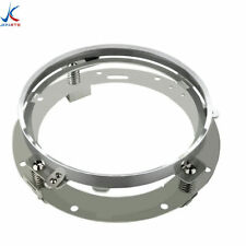 """1x 7"""" Inch LED Headlight Adapter Mounting Ring Bracket Head Lamp Daymaker Round"""