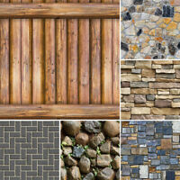3D Brick Stone Self Adhesive Wallpaper Stickers Bedroom Living Room Wall Decor