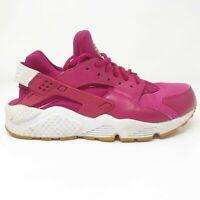 Nike Womens Air Huarache Run 634835-606 Fuchsia Pink Running Shoes Size 7.5