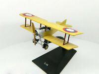 Sikorsky S-16 Fighter Russian Empire WWI 1916 Year 1/100 Scale Model with Stand