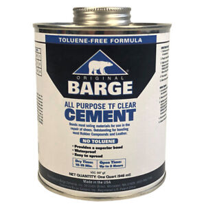 Barge All-Purpose TF Clear Cement - Quart
