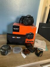 Sony Alpha SLT-A58M 20.1MP Digital SLR Camera - Black (Kit w/ DT 18-135mm Lens)