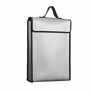 1200℃ Fireproof Conference Document Bag A4 File Cash  For Work Office D7N1
