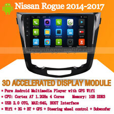 "10.1"" Android 7.1 Car Stereo for Nissan Rogue 2014-2017 GPS navigation Wifi 3G"