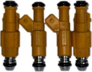 91-95 Jeep Cherokee 2.5L Upgraded Genuine 4-Hole Bosch Fuel Injectors