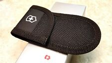 VICTORINOX SWISS ARMY Black Cordura Velcro Folding Knife Belt Pouch Sheath Nylon