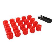 20*19mm Red Car Wheel Lug Bolt Nut Cover Cap Puller For Ford Edge Explorer