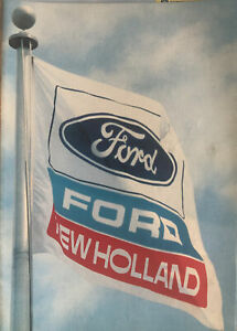 Ford New Holland Basildon Corporation Tractor Brochure With Letter