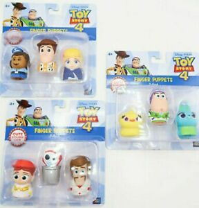 Disney Pixar Toy Story 4 Finger Puppets Set -9 characters Buzz, Woody, & Others