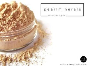 Mineral Foundation Loose Powder Bare MakeUp Satin Sheer Cover Full Face Coverage