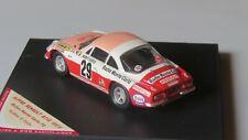 miniature 1/43 Alpine A110 Monte Carlo 73 Pat Moss Trofeu