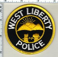 West Liberty Police (Ohio) Shoulder Patch from 1993