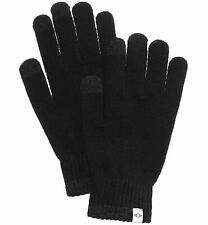 $67 Alfani Men'S Black Touch Screen Stretch Fit Warm Winter Gloves One Size