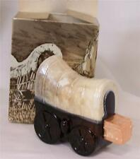 Vintage Avon Covered Wagon Spicy After Shave New in Box