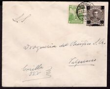 3930 CHILE PS STATIONERY ENVELOPE 1930 # EP 23 PARRAL - VALPARAISO