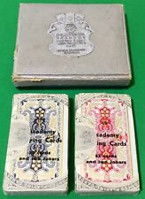 Twin Set TAX WRAPPED Vintage Piatnik Non Standard ** ACADEMY ** Playing Cards