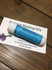 BREATH Deeper Aromatherapy Inhaler~Clear Airways~Easy Breathing~Clear Breathing