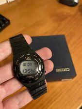 Vintage 1982 Seiko Speed Master A828-4019 Giugiaro Design Quartz