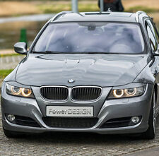 Sopracciglia per BMW 3  E90 E91 2005-2012 ABS Plastica  palpebre fari