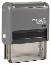 Classix P08 Xstamper Custom 3 line Return address Self-Inking Rubber Stamp