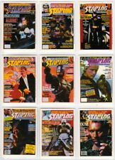 1993 STARLOG TRADING CARD SET MAGAZINE COVERS