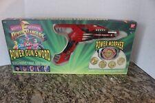 1994 Mighty Morphin Power Rangers Power Gun/Sword Power Morpher Orig Box # 2250