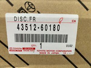 """TOYOTA LANDCRUISER LC200 FRONT BRAKE ROTOR """"4351260180"""""""