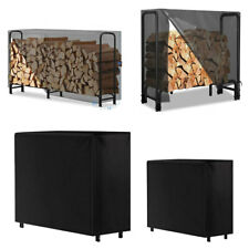 Firewood Log Rack Cover Heavy Duty Weather Resistant for Log Rack Patio