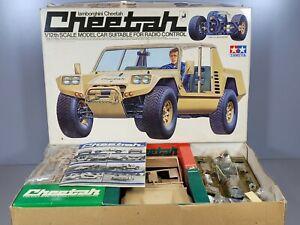 "Vintage Rare Tamiya 1/12 Lamborghini Cheetah RA1207 ""Partial Built Complete Kit"""