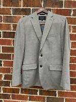 Banana Republic Tailored Fit Beige Brown Herringbone Sport Coat Blazer Mens 38R
