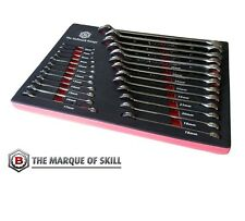 Britool Hallmark 25 Piece Metric Combination Spanner Set 6 - 32mm CELMSET632